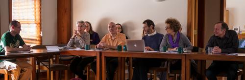 A discussion at the recent conference on secular Buddhism.