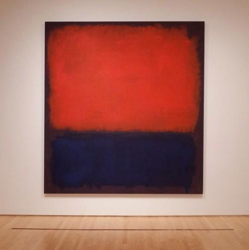 """Rothko No 14"" by Notnarayan - Own work. Licensed under Public domain via Wikimedia Commons"