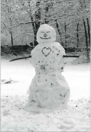 2008-Winter--MartineBatchelor-Snowman