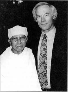Jack Engler and his teacher Munindra-ji