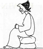 Sketch of Ruth by Suzanne Thrift