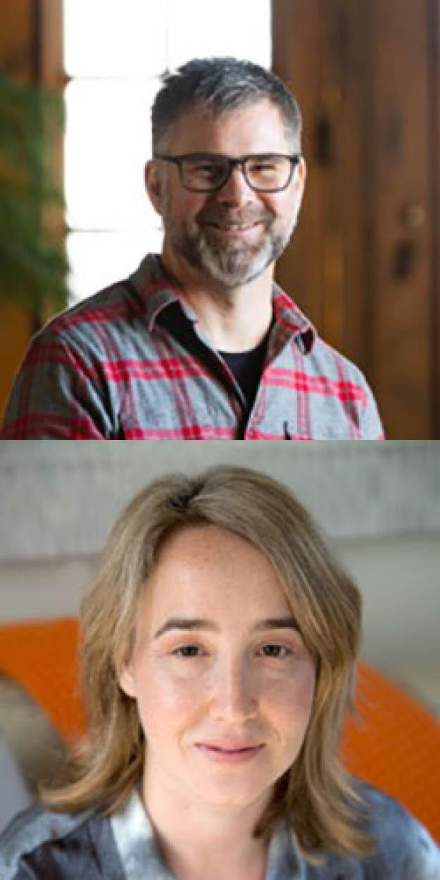 Chris C and Julia B