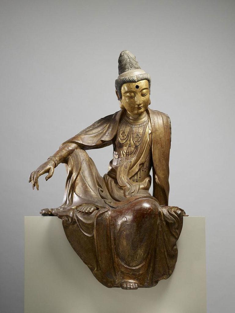 1024px-Chinese_-_Seated_Guanyin_(Kuan-yin)_Bodhisattva_-_Walters_25256_(4)
