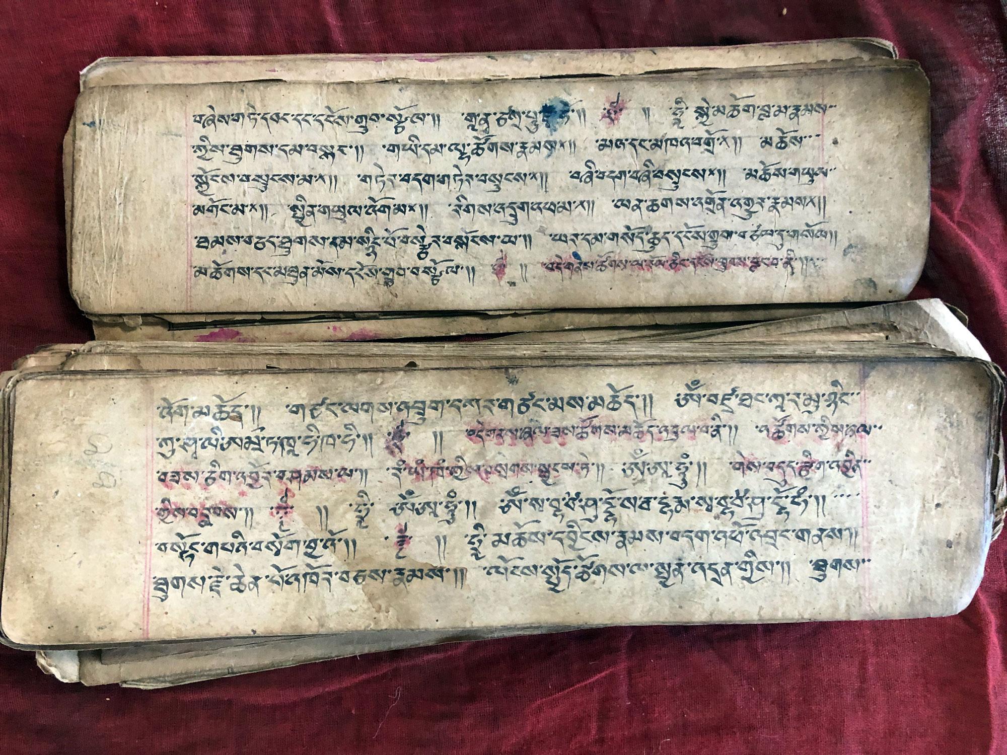 Tibetian-book